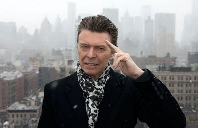 Bowie immortalato nel 2015